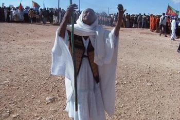 Eritrean woman.