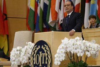 Francois Hollande. (Credits: Pierre Albouy)