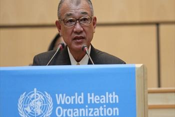 Yôhei Sasakawa. WHO/Pierre Albouy