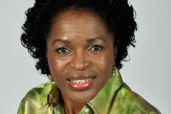 2015 UN Nelson Rolihlahla Mandela Prize Laureate Helena Ndume.