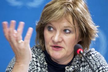 Clare Nullis. UN File Photo/ Jean-Marc Ferré