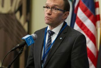 Special Adviser of the Secretary-General on Cyprus Espen Barth Eide. UN File Photo/Loey Felipe