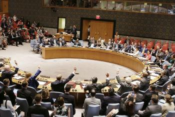The Security Council unanimously adopts resolution 2231, on 20 July 2015.