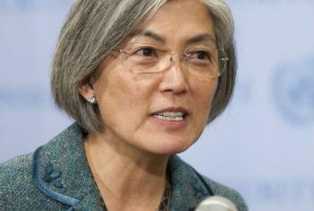 Kyung-wha Kang, Assistant Secretary-General for Humanitarian Affairs and Deputy Emergency Relief Coordinator.