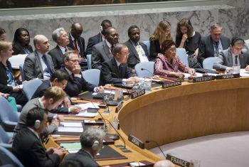 Secretary-General Ban Ki-moon at the Security Council's debate on the role of regional organizations in meeting the contemporary challenges of global security.