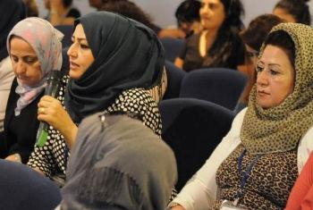 Conference'Empowering Women to Address the Impact of Terrorism', Erbil, Iraq.