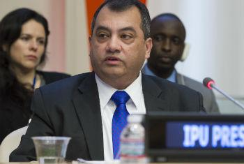 Saber Chowdhury, President of the Inter-Parliamentary Union (IPU). UN File Photo/Eskinder Debebe