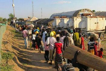 UN is protecting almost 170,000 people in the war-torn country in South Sudan. File