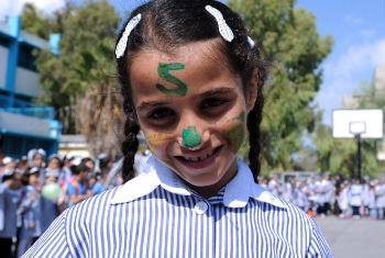 Putting the education of Palestinian children at risk is unacceptable, according to a senior official of UNRWA. File