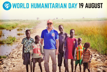 Share stories that matter - #ShareHumanity on World Humanitarian Day. Campaign Image: UNOCHA