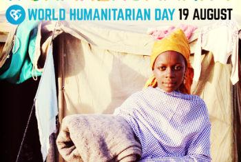 Share stories that matter – #ShareHumanity on World Humanitarian Day. Campaign Image: UNOCHA