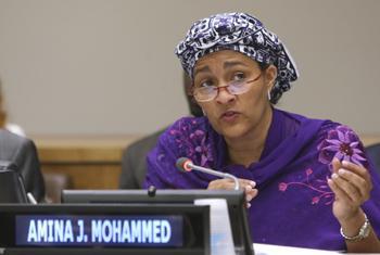 Amina J. Mohammed.