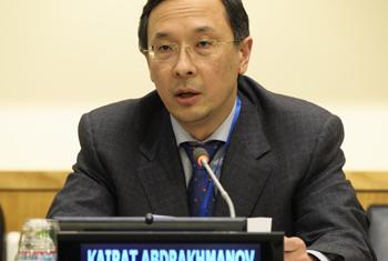 Kairat Abdrakhmanov.