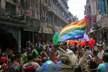 """Gai Jatra,"" a Nepali festival, has been celebrated for nearly a decade as a version of ""LGBTI pride."""