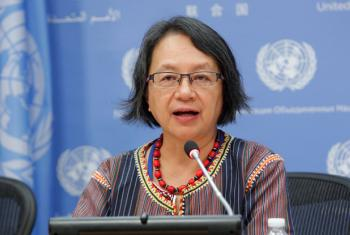 Victoria Tauli-Corpuz, Special Rapporteur on the rights of indigenous peoples. (file)