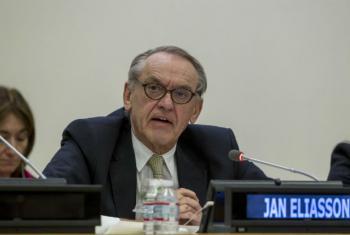 Deputy Secretary-General Jan Eliasson. UN File Photo/Loey Felipe