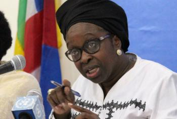African Union Special Envoy Bineta Diop said Resolution 1325 must adapt to new threats such as Boko Haram extremists. Photo MINUSCA/Balepe Dany.