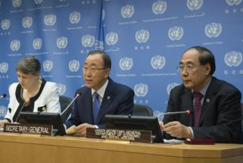 Press briefing on the launch of the Millennium Development Goal (MDG) Gap Task Force Report 2015.