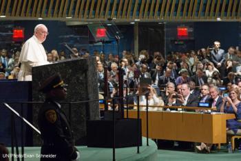 Pope Francis. UN
