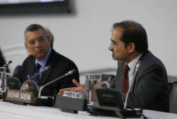 Dr. Shekhar Saxena. UN File Photo/JC McIlwaine