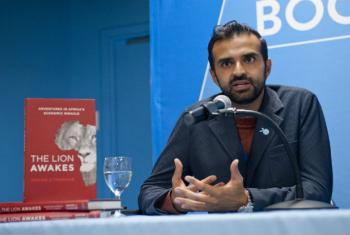 African/Indian businessman Ashish J. Thakkar, author of The Lion Awakes: Adventures in Africa's Economic Miracle.