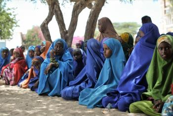 Young girls in Somalia.