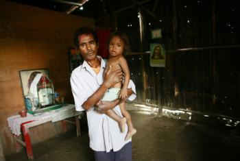 World Health Organization Assists Leprosy Victims in Timor-Leste. UN File Photo/Martine Perret