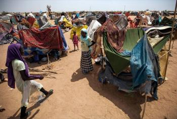 A section of the Kalma camp for internally displaced people (IDP), near Nyala, in South Darfur. File