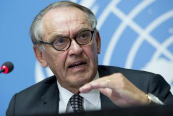 Jan Eliasson, United Nations Deputy Secretary‑General appealed to all parties involved in the conflict to ensure the talks took place.