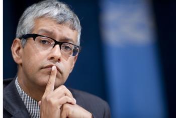 Farhan Haq. UN File Photo.