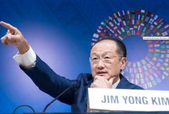 World Bank Group President Jim Yong Kim at Annual Meetings Opening in LIMA, Peru.