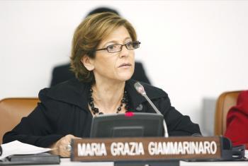 Maria Grazia Giammarinaro.