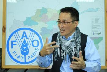Tomio Shichiri, FAO country director, Afghanistan.