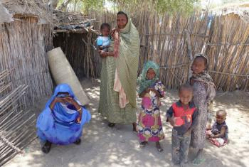 Internally displaced persons find refuge in Baga Sola, Chad, after Boko Haram attacked their village.