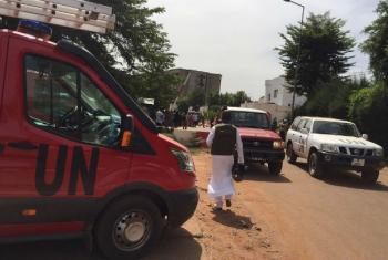 UN Stabilization Mission in Mali (MINUSMA) provides support to the authorities following the terrorist attack on a hotel in the country's capital, Bamako.