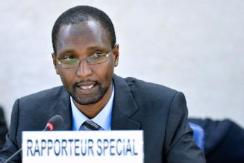Special Rapporteur on contemporary forms of racism, racial discrimination, xenophobia and related intolerance Mutuma Ruteere.