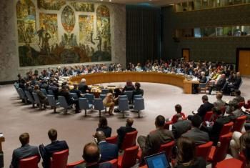 Security Council holds meeting on threats to international peace and security caused by terrorist acts. UN File Photo/Loey Felipe