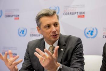Martin Kreutner, Dean of the International Anti-Corruption Academy.
