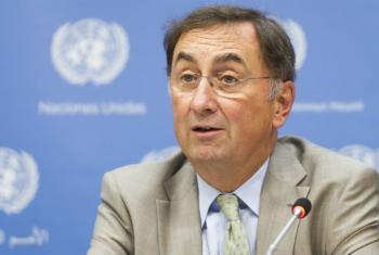 Janos Pasztor, Assistant Secretary-General on Climate Change. UN File Photo/Mark Garten