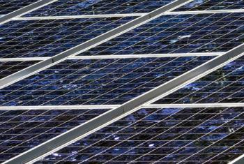 Renewable Energy Solar Panels. UN File Photo/Ariane Rummery