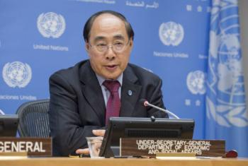 Wu Hongbo, Under-Secretary-General for Economic and Social Affairs. UN File Photo/Eskinder Debebe