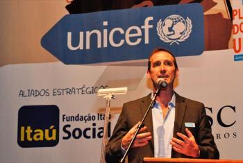 Gary Stahl. © UNICEF/BRZ/Lucia Oliveira