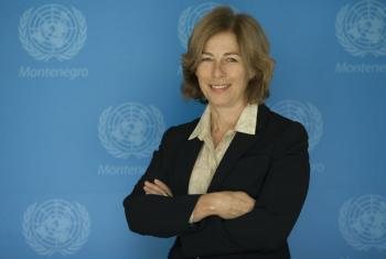 Fiona McCluney, UN Resident Coordinator and UNDP Resident Representative to Montenegro | File