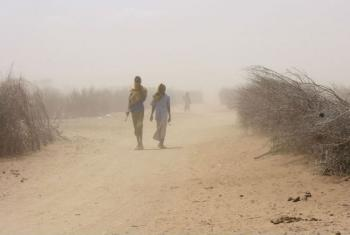 Starting in 2011, drought-hit northern and eastern Kenya suffered especially from an already poor food security situation, exacerbated by high food and fuel prices. File