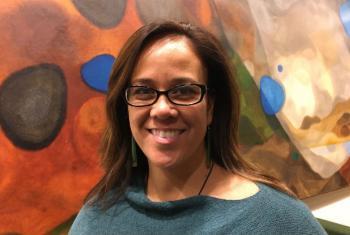 Activist Amy Kalili.
