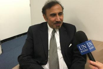 Jehangir Khan, director of both the Counter-Terrorism Implementation Task Force (CTITF) and the UN's Counter-Terrorism Centre.
