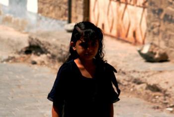 Shahd, 11 years old, Yemen, 2015.