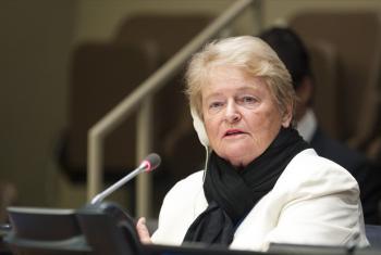 Gro Harlem Brundtland.