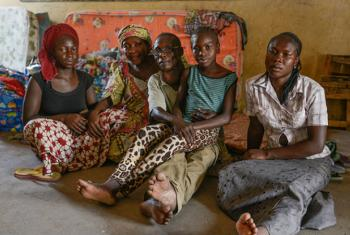 This family has lost two children to abductions by Boko Haram. Their home was also burned to the ground by the insurgents.