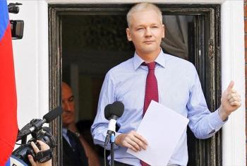 Wikileaks founder Julian Assange. Source: Screen grab from OHCHR video